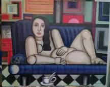 FERNAND LEGER - Master European Oil Canvas
