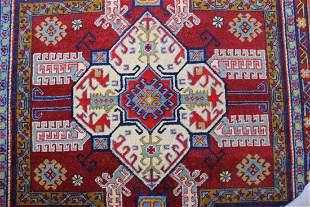 TRIBAL GEOMETRIC KAZAK DESIGN 50 x 77 152 x 231 CM