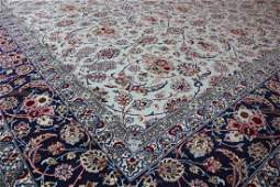 EXTREMELY FINE AND RARE ISFAHAN 85X104 257X315 CM
