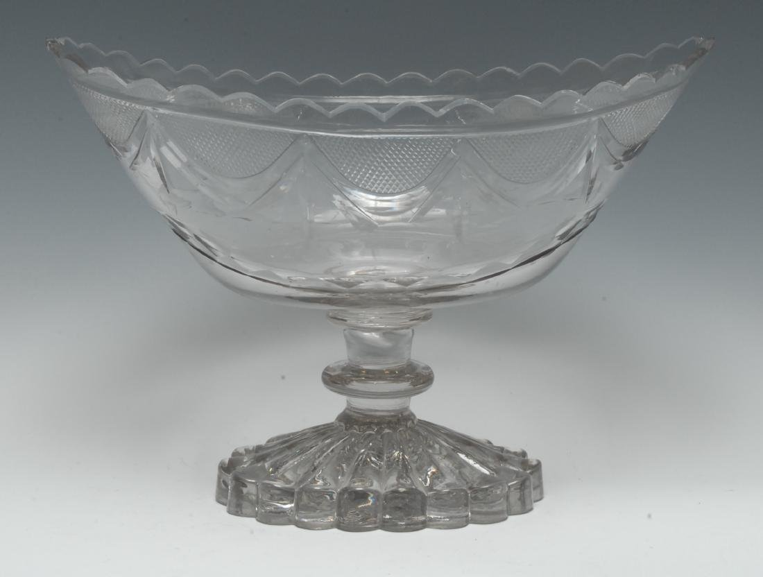 A Penrose Waterford crystal pineapple dish, strawberry