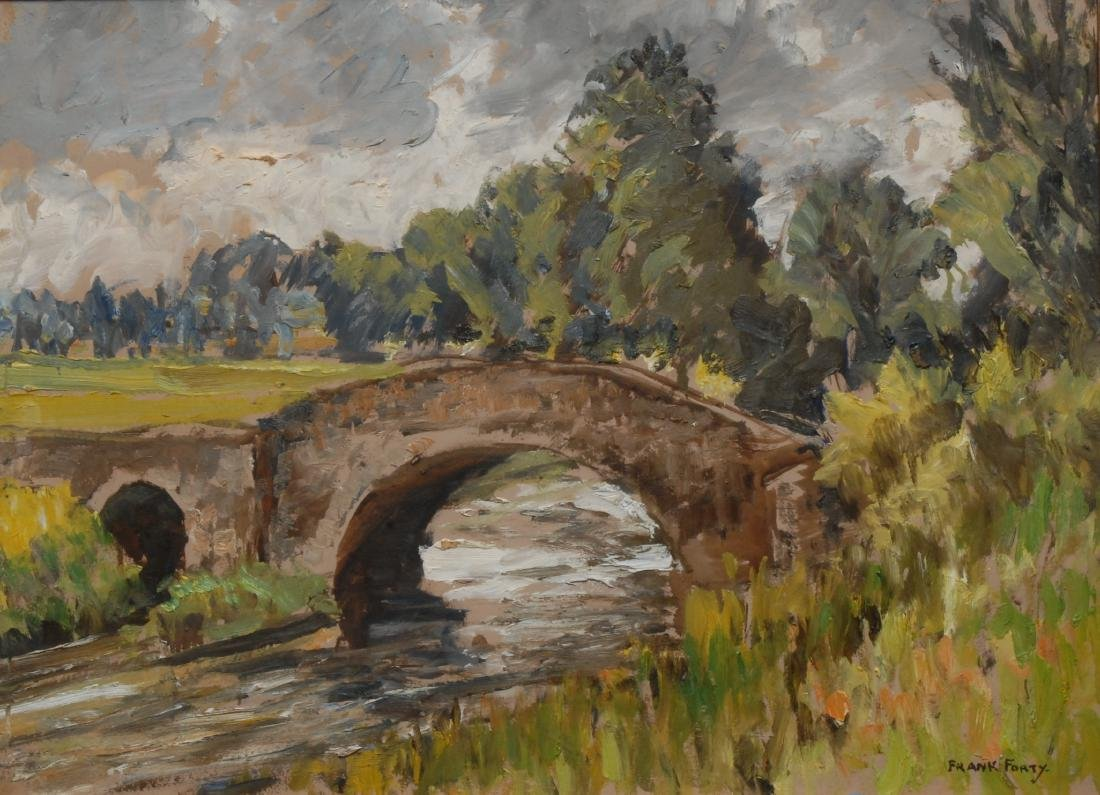 Frank Forty (Irish, 1902 - 1996) The Hump Back Bridge