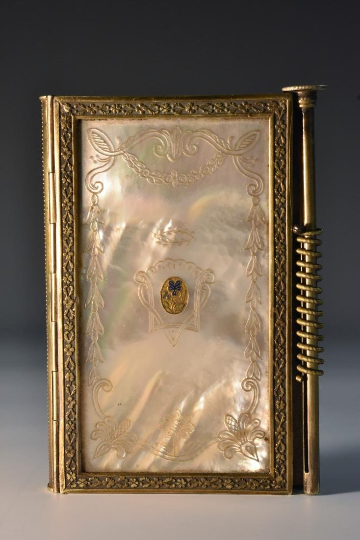 A 19th century French Palais Royale gilt-metal mounted