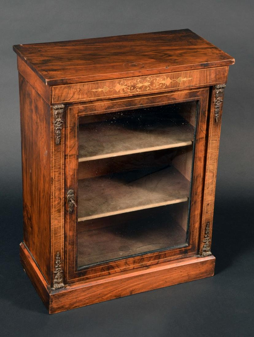 Miniature Furniture - a Victorian gilt metal mounted