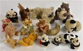 Stuffed Toys - a 1950s/60s Steiff Squirrel, Perri,
