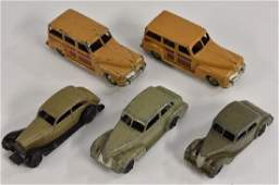 Dinky Toys  1940s 30b Rolls Royce grey and black