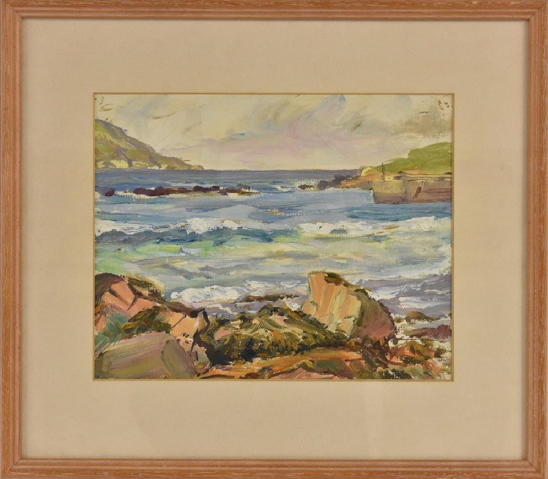 Frank Forty (Irish 1902 - 1996) The  Cove oil, 18cm x