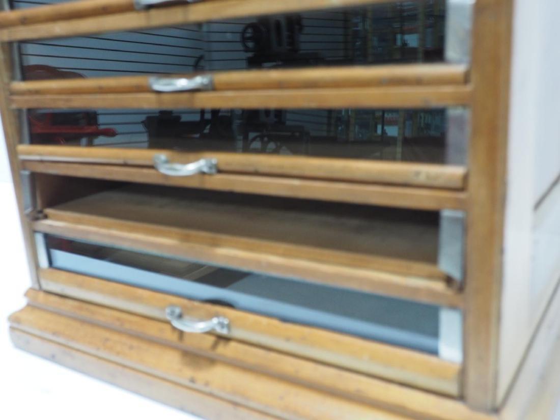 Oak Richardson's 14-drawer spool cabinet - 3