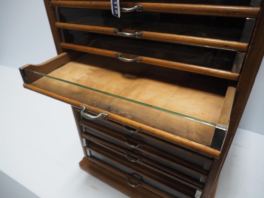 Oak Richardson's 14-drawer spool cabinet - 5
