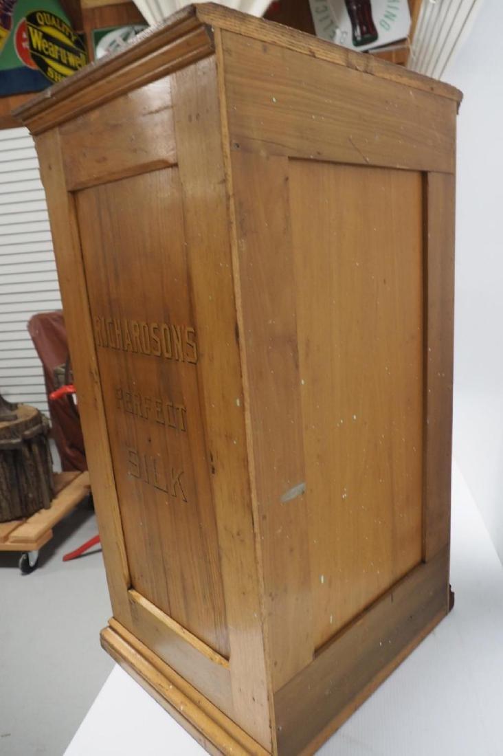 Oak Richardson's 14-drawer spool cabinet - 7