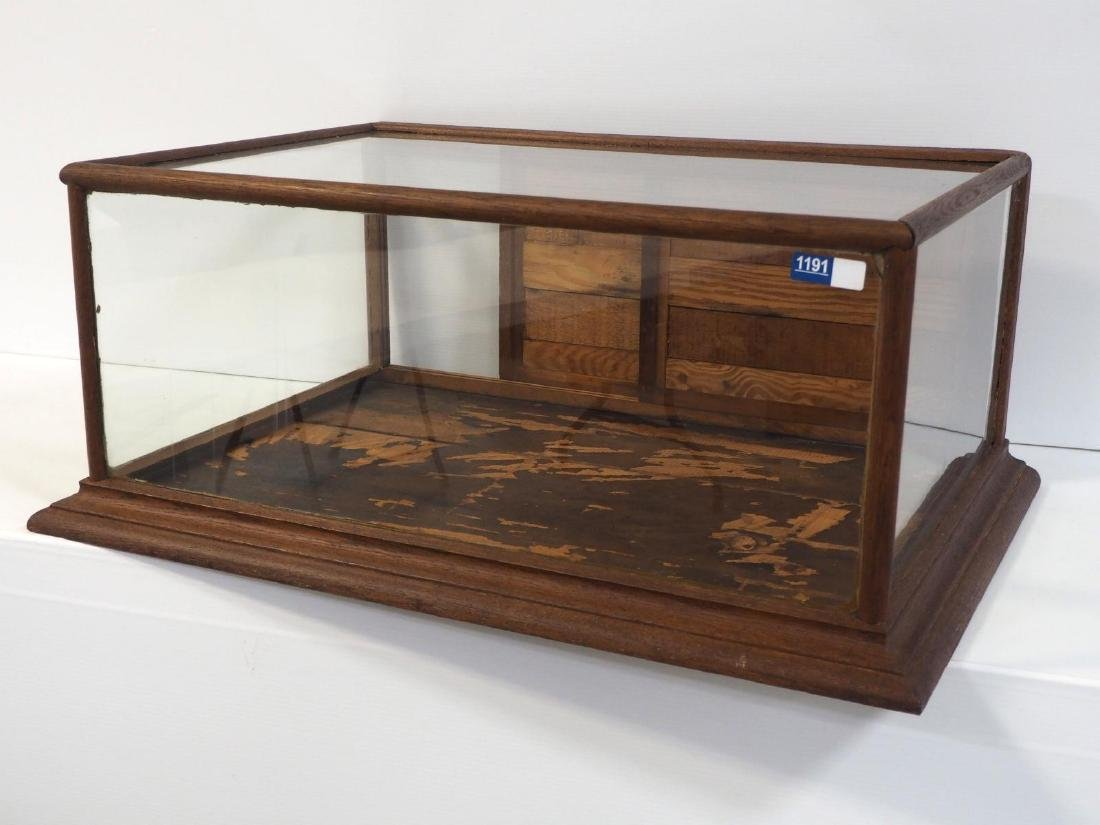 Country store countertop display case