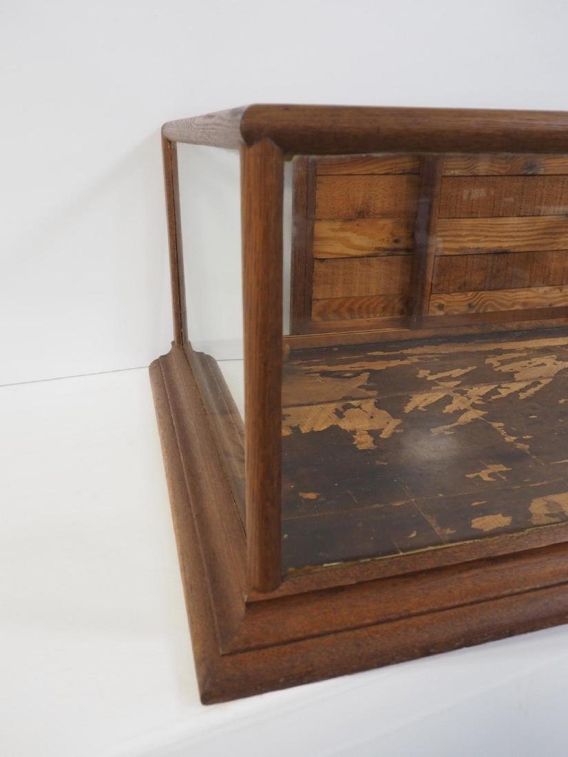 Country store countertop display case - 2