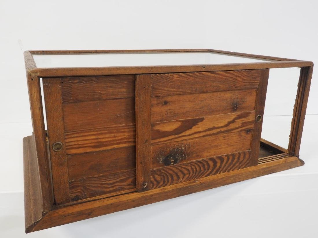 Country store countertop display case - 3