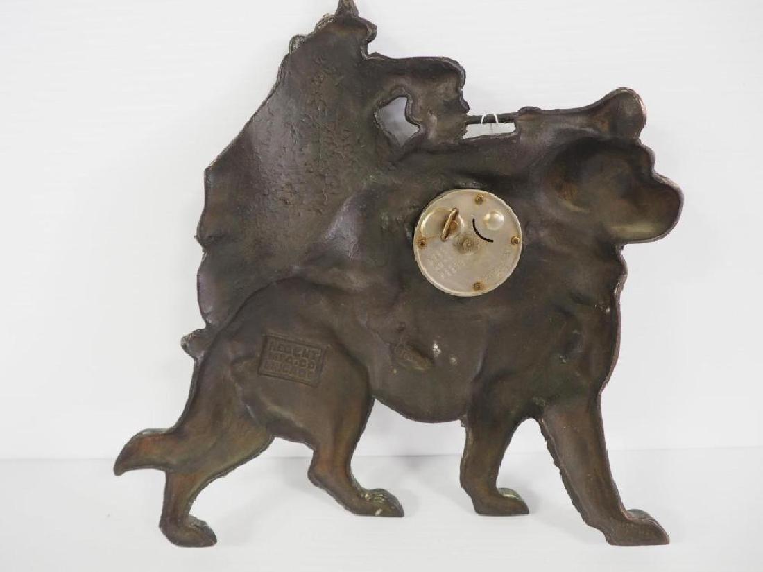 Cast iron Erham's Clothing advertising clock - 5