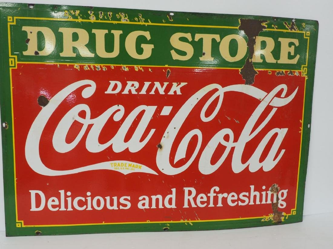 Coca Cola Drug Store sign - 2