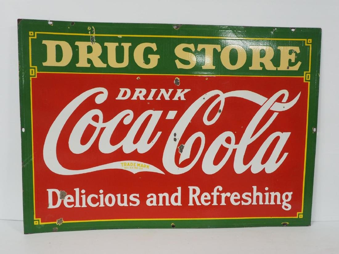 Coca Cola Drug Store sign - 7