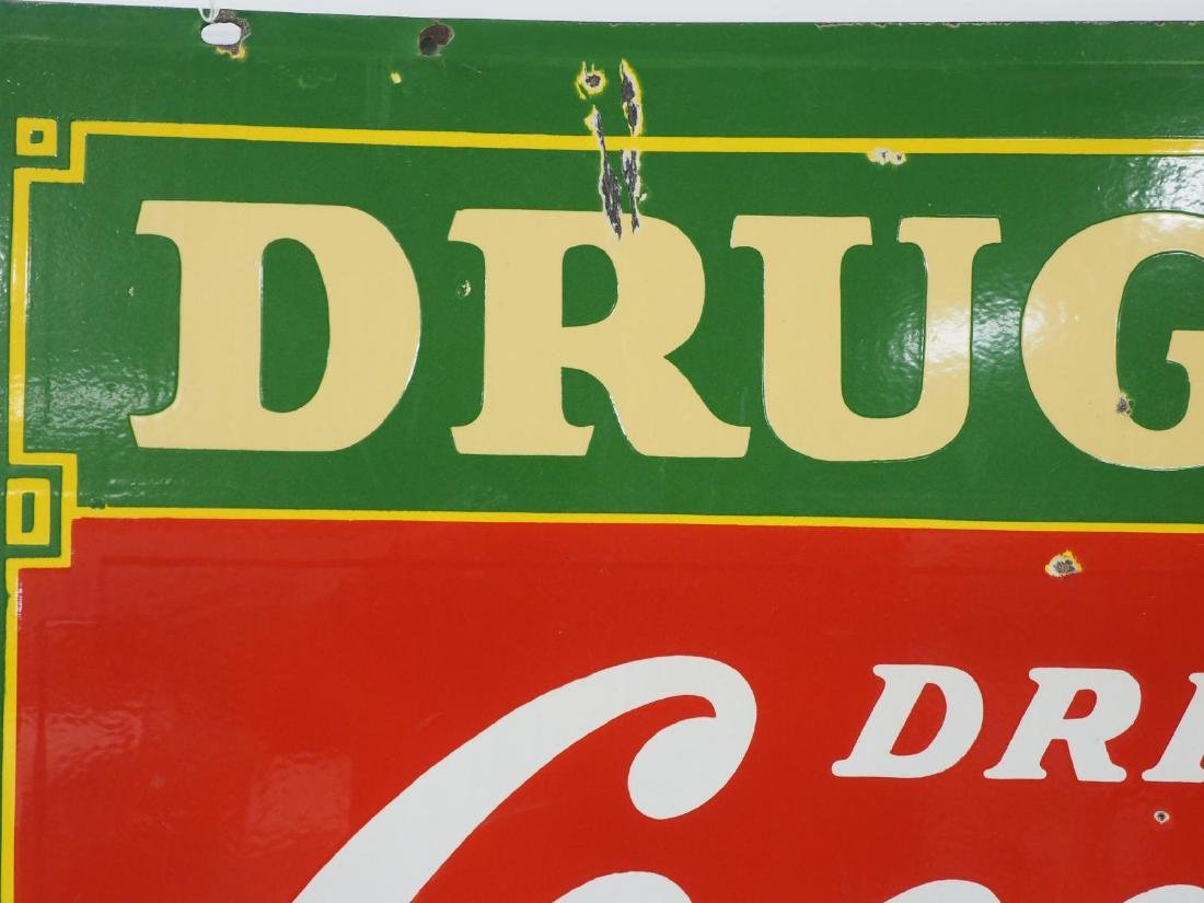 Coca Cola Drug Store sign - 9