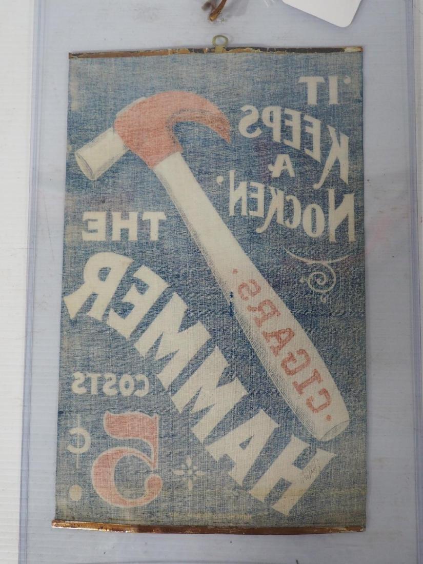 """""""The Hammer"""" cigar advertisement - 2"""