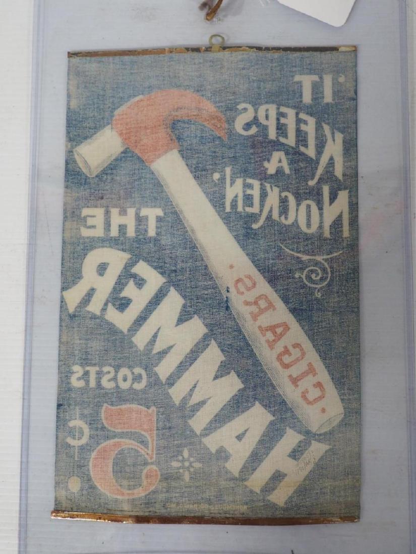 """""""The Hammer"""" cigar advertisement - 3"""