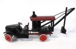 Buddy L truck steam shovel