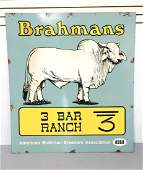 Brahmans Cattle sign