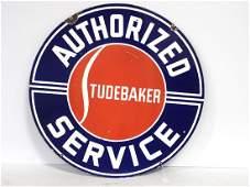 Studebaker Authorized Service sign