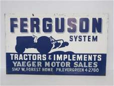 Ferguson System sign