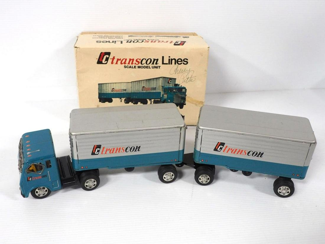 TransConLine 3-pc Freight Set friction toy