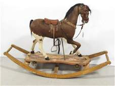 Early childs rocking horse