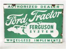 Ford Ferguson System Tractor sign
