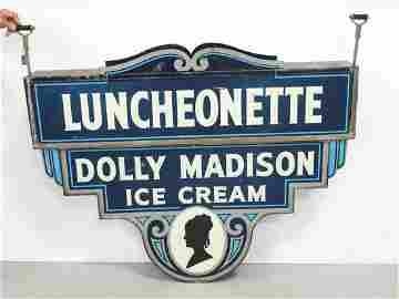 Dolly Madison Ice Cream sign