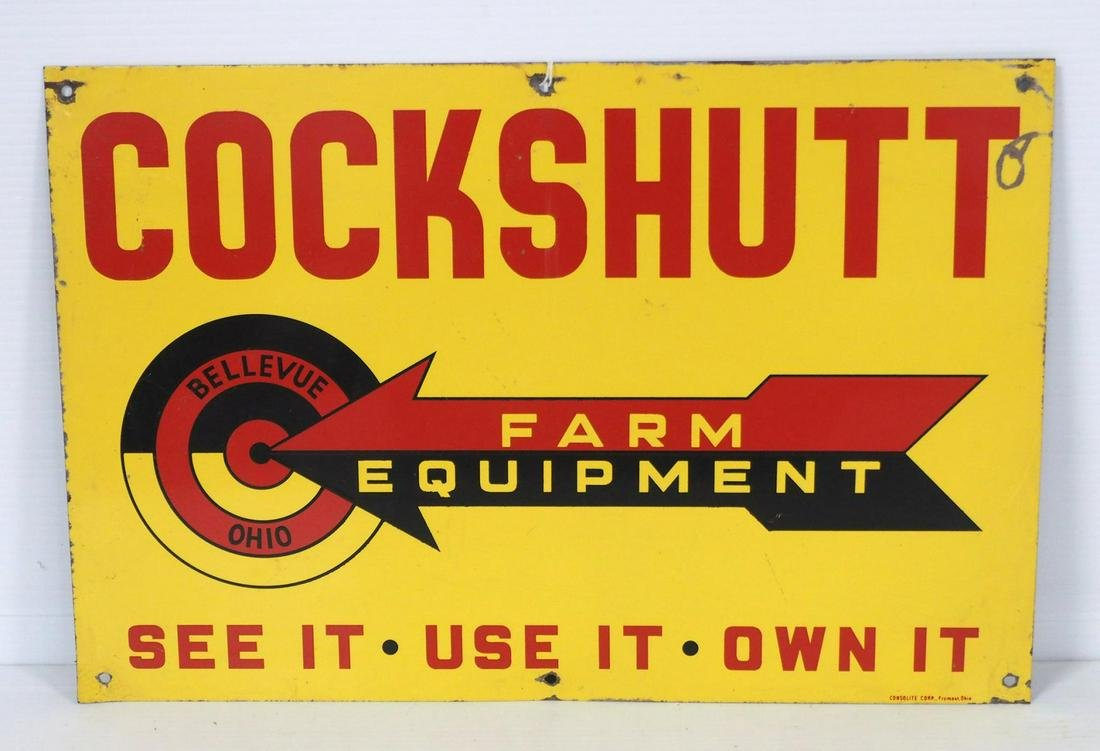 Cockshutt Farm Equipment sign