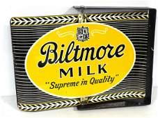 Biltmore Milk sign