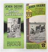 (2) John Deere brochures