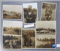 Native American Indian funeral photographs