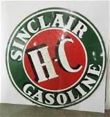Sinclair H-C Gasoline sign