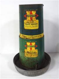 Hudson chicken feeder