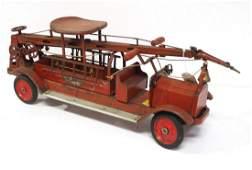 Keystone Packard sit & ride fire truck