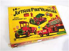 Cragstan Antique Fire Vehicles Set