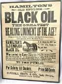 Black Oil Horse advertisement