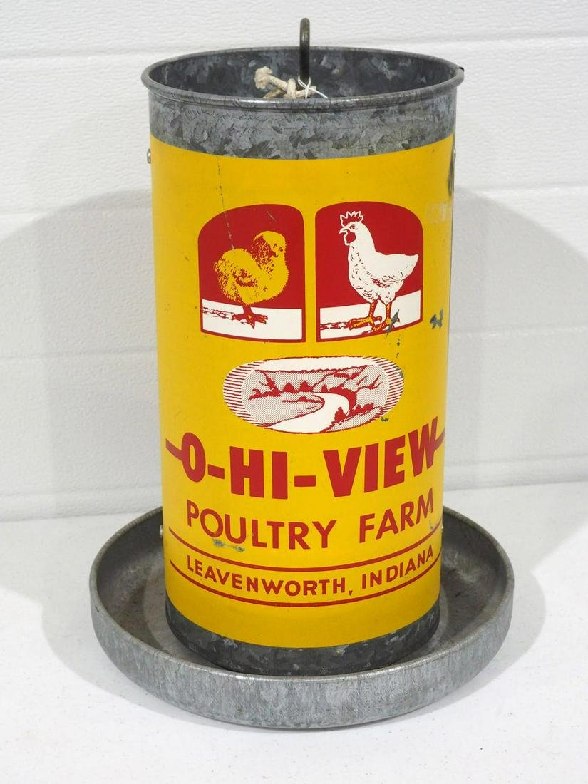 O-Hi-View poultry feeder