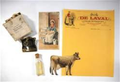 4 DeLaval Cream Separator items