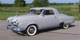 1950 Studebaker Champion Deluxe Business Coupe