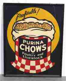 Purina Chows sign