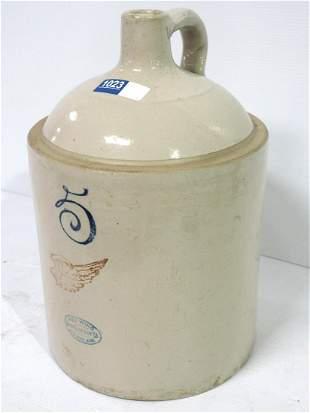 Redwing crock jug