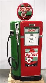 1951 Bowser Model 22 gas pump