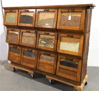 Seed display case