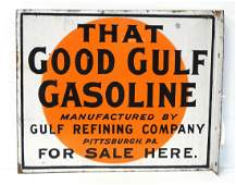Good Gulf Gasoline sign