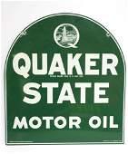 Quaker State Motor Oil sign