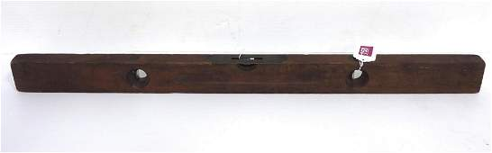 """Stanley No. 7½ 36"""" Double Plumb and Level"""