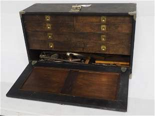 6-Drawer Machinist Case with tools
